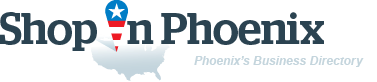 ShopInPhoenix. Business directory of Phoenix - logo